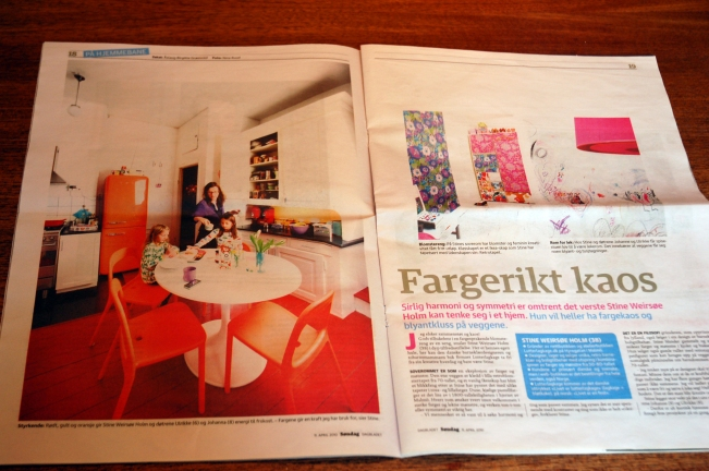Stine Weirsoe Holm feature article, interior decoration and lifestyle