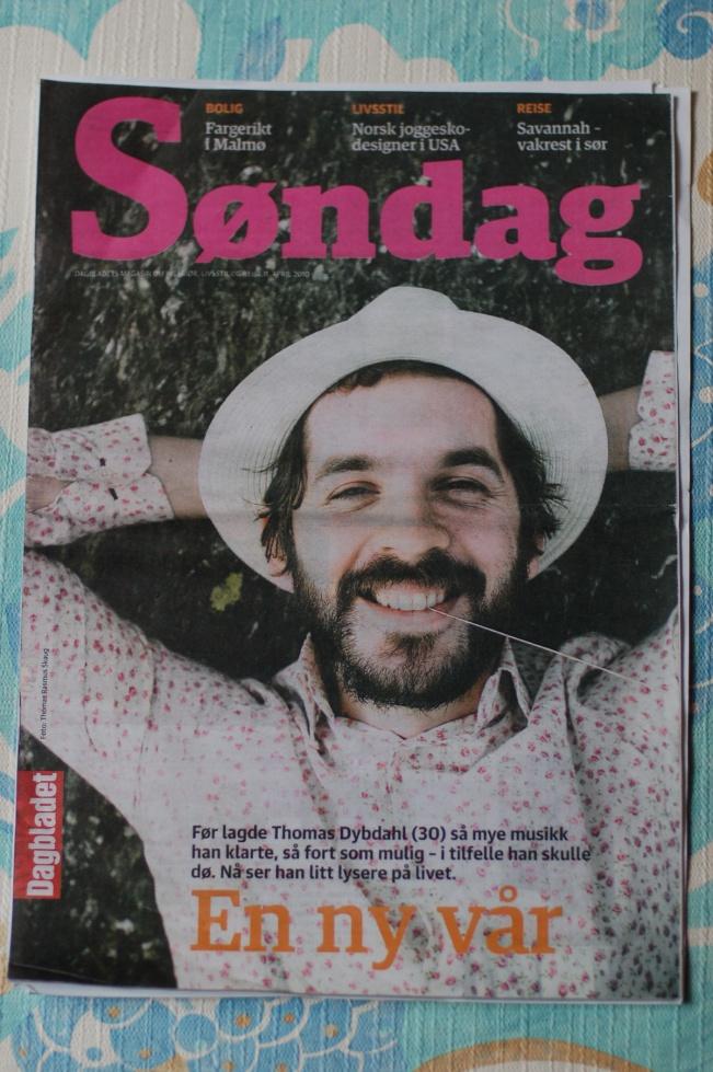frontpage Dagbladet Sondag April 11 2010