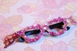 lady gaga glitter glasses DIY
