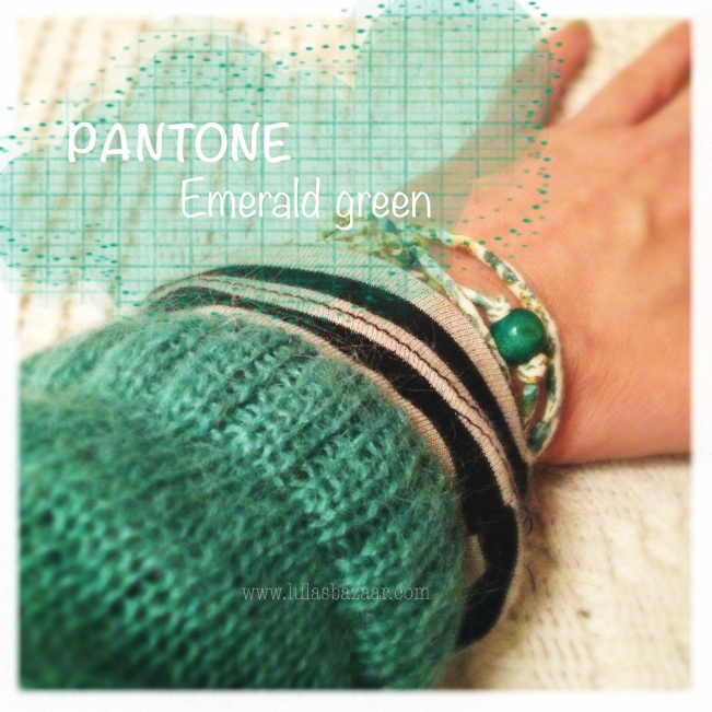 colour scheme based on Pantone colour of the year 2013 emerald green