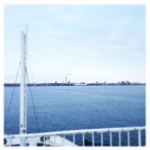 Sailed to Helsingborg