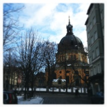 Stockholm was cold and beautiful
