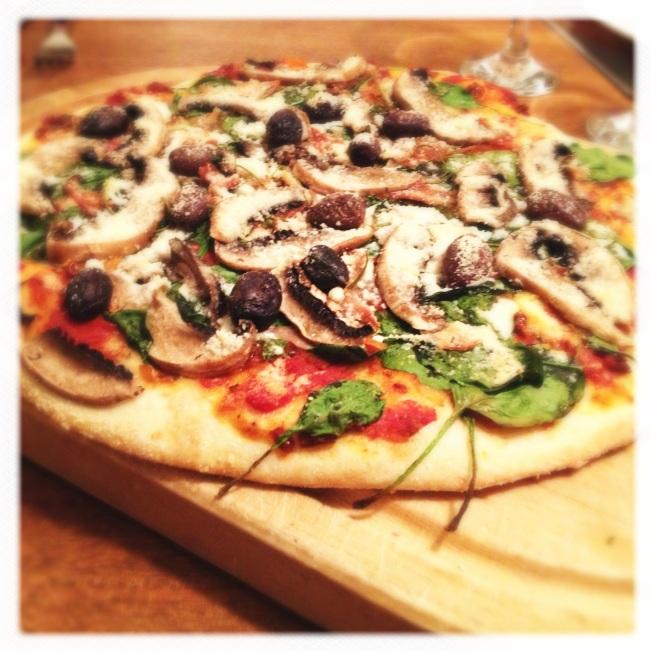 Perfect crisp pizza