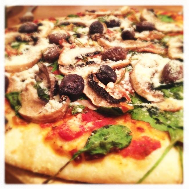 Crisp perfect homemade pizza