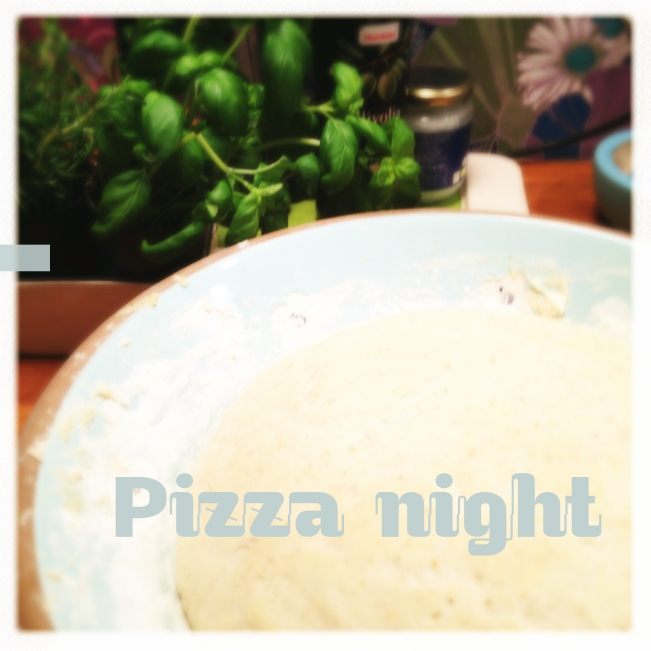 dough raising for pizza